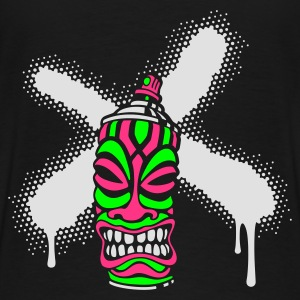 SPRAY A CROSS TIKI (N1 UK) - Men's Premium T-Shirt