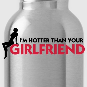 Granatowy Hotter than your Girlfriend (2c) Bluzy - Bidon