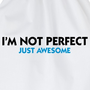 Wit I'm not perfect - Just Awesome (2c) Sweaters - Gymtas