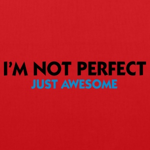 Rød I'm not perfect - Just Awesome (2c) Undertøj - Mulepose