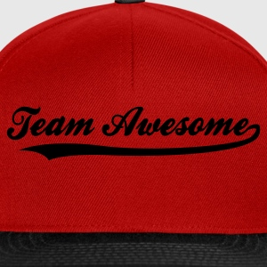 Rot Team Awesome (1c) Kinder T-Shirts - Snapback Cap