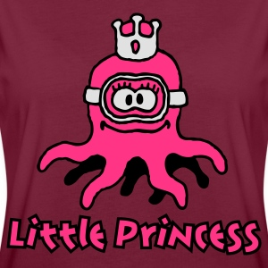 little_princess_octopuss_3c Tabliers - T-shirt oversize Femme