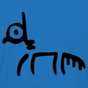 Royal blue Tribal Horse by Cheerful Madness!! Bags  - Men's T-Shirt