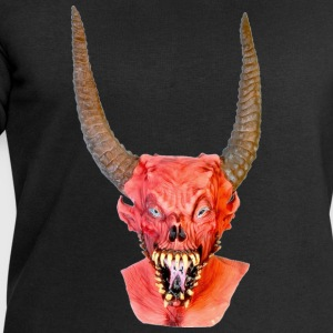 Black Halloween Scary Head 2 Men's T-Shirts - Men's Sweatshirt by Stanley & Stella