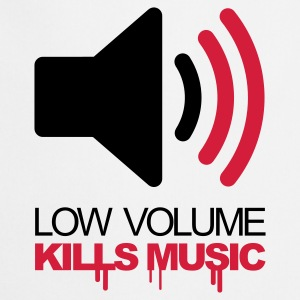 Kristalroze Low Volume Kills Music Sweaters - Keukenschort