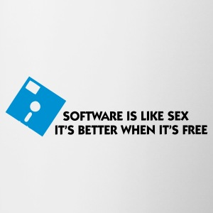 Bianco Software is like Sex 1 (2c) Intimo - Tazza