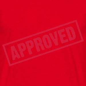 Rouge Approved (1c) Tabliers - T-shirt Homme