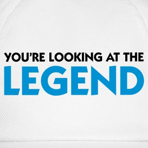 White Looking at the Legend (2c) Hoodies & Sweatshirts - Baseball Cap