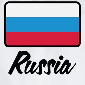 Wit Flag Russia 1 (DD) T-shirts - Gymtas