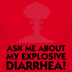 Red Explosive Diarrhea 1 (2c) Hoodies & Sweatshirts - Men's T-Shirt