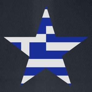 Marinblå greece_star T-shirts - Flexfit baseballcap