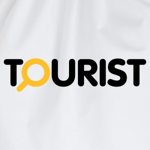 Weiß Tourist © T-Shirts - Drawstring Bag