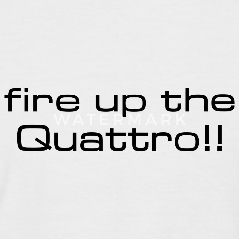 White/navy fire up the quattro Men's T-Shirts - Men's Baseball T-Shirt