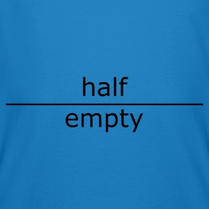 ::  half empty (for mugs and bags) :-:  - Camiseta ecológica hombre