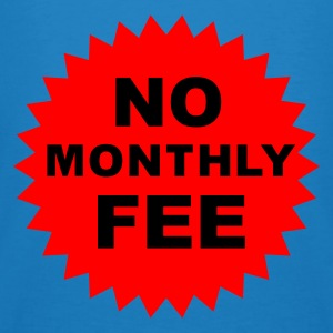 no monthly fee  - Økologisk T-skjorte for menn