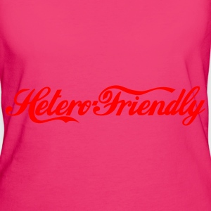 hetero friendly  - T-shirt Bio Femme