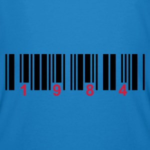 barcode 1984  - Men's Organic T-shirt
