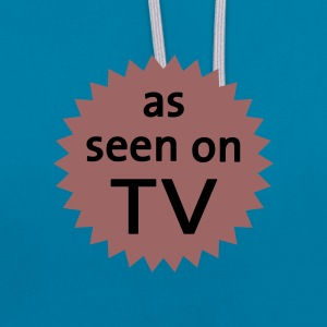 As Seen On TV  - Sweat-shirt contraste