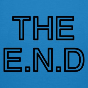 the end  - Økologisk T-skjorte for menn
