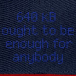 ::  640 kB for anybody :-:  - Snapback Cap