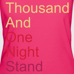 ::  thousand and one night stand 3colors :-:  - Frauen Bio-T-Shirt