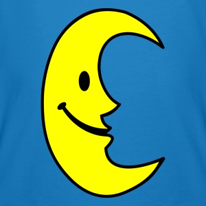 Smiley Moon  - Men's Organic T-shirt