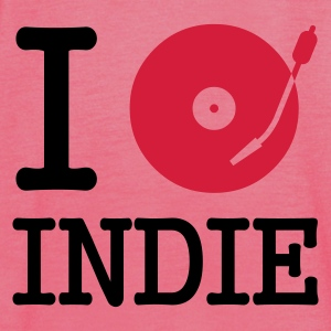 :: I dj / play / listen to indie :-:  - Singlet for kvinner fra Bella