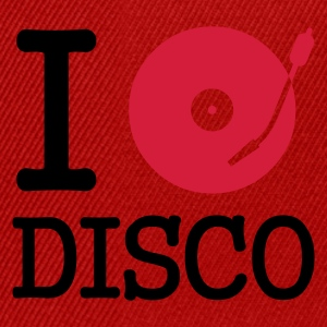 :: I dj / play / listen to disco :-:  - Snapback-caps