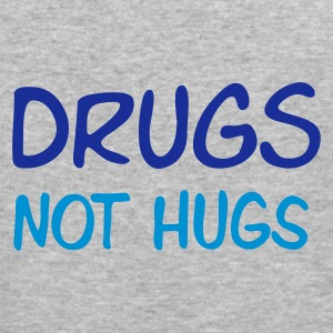 ::  drugs not hugs :-: - Men's Slim Fit T-Shirt