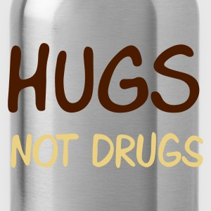::  hugs not drugs :-: - Vattenflaska