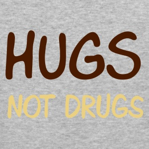 ::  hugs not drugs :-: - Men's Slim Fit T-Shirt