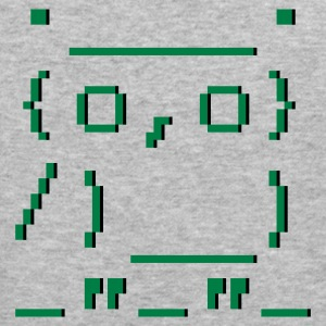 :: ASCII-art: owl :-: - Men's Slim Fit T-Shirt