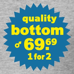Quality Bottom - Männer Slim Fit T-Shirt