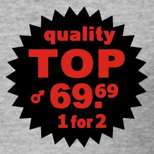 Quality Top  - Männer Slim Fit T-Shirt