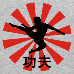 kung fu  - Men's Slim Fit T-Shirt