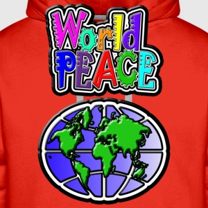 World Peace - Sweat-shirt à capuche Premium pour hommes