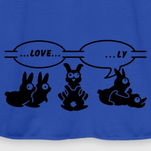 Navy love ... ly (1c) Kids' Shirts - Women's Tank Top by Bella