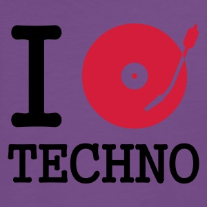 :: I dj / play / listen to techno :-: - Männer Premium T-Shirt