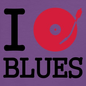 ::  I dj / play / listen to blues :-: - Männer Premium T-Shirt
