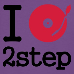 :: I dj / play / listen to 2step :-: - Premium-T-shirt herr