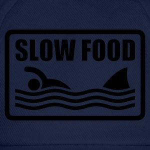 ::  slow food :-: - Baseballkappe