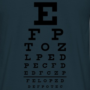 ::  eye chart :-: - Men's T-Shirt