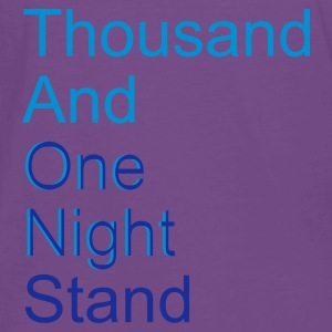 ::  thousand and one night stand (2colors) :-: - Mannen Premium T-shirt