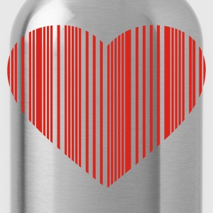barcode love - Drinkfles