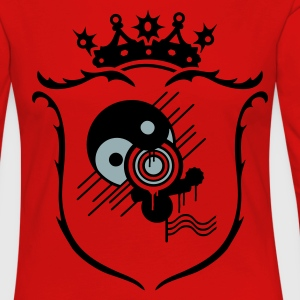 Red/white Coat of arms Men's T-Shirts - Women's Premium Longsleeve Shirt