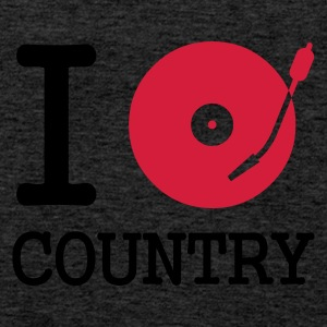 :: I dj / play / listen to country :-: - Männer Premium Tank Top