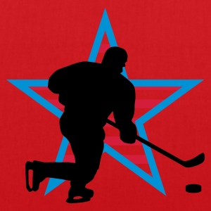 icehockey_star_a_3c T-shirts - Mulepose