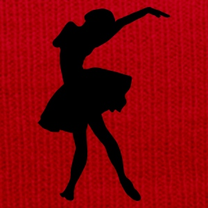Red silhouette ballerina Bags  - Winter Hat