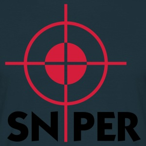Navy Sniper (2c)  Aprons - Men's T-Shirt