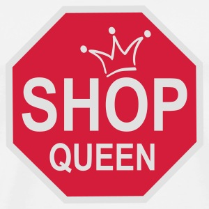 SHOP QUEEN | Buttons - Männer Premium T-Shirt